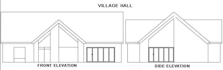 Hall-proposed elevations